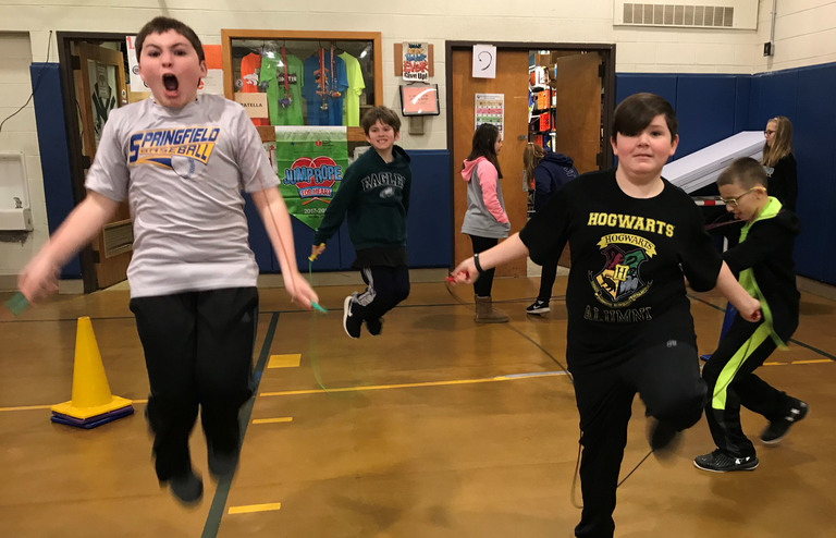 Jump Rope for Heart Week Returns to Scenic