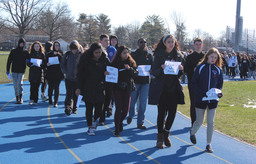 Students Particpate in the National School Walkout