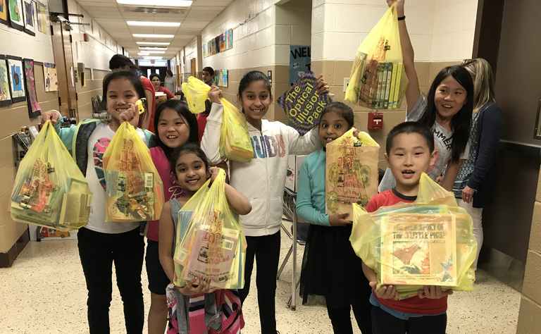 Students Prepare For Fifth Annual Book Swap