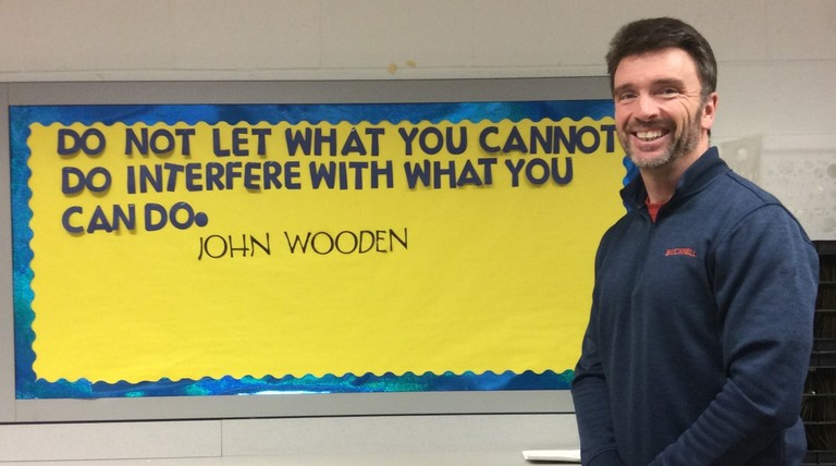 ETR TEACHER EMBRACES CHANGE