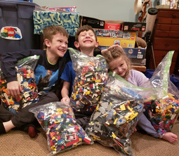 SLC Collects Legos to Donate to Children in Mongolia