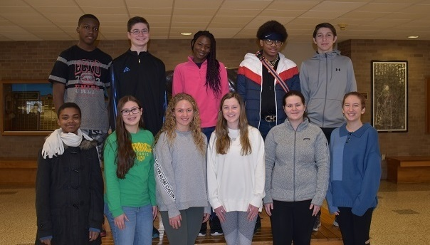 SHS Students and Teachers of the month