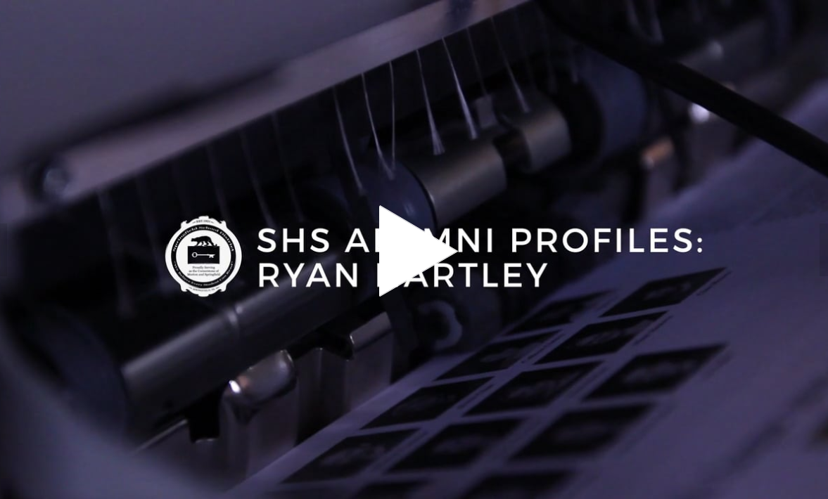 SHS Alumni Profile: Ryan Hartley