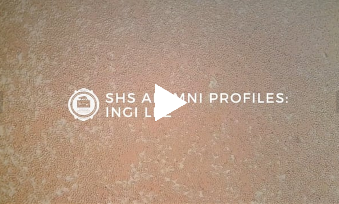 SHS Alumni Profile: Ingi Lee